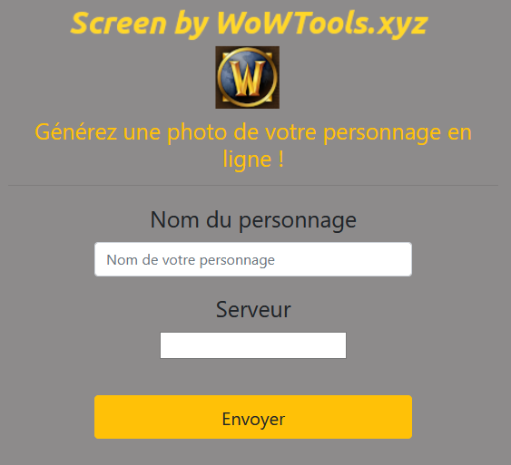 Screen - WoWTools
